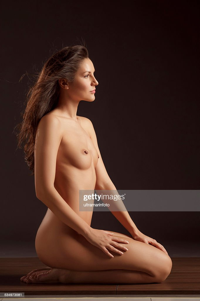 Beautiful Dynamic Women Gorgeous Naked Brunette Natural -4153