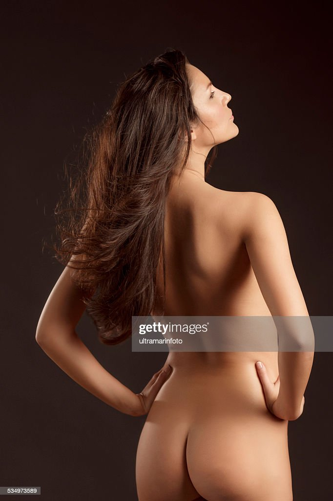 Beautiful Dynamic Women Gorgeous Naked Brunette Natural Beauty Portrait Stock Photo  Getty Images-4908