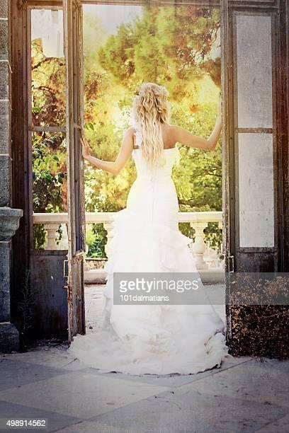 Schöne Eleganz Braut