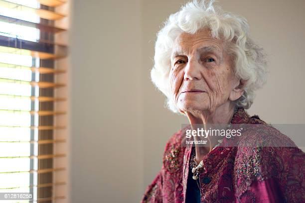 Beautiful Elegant Senior Woman Portrait