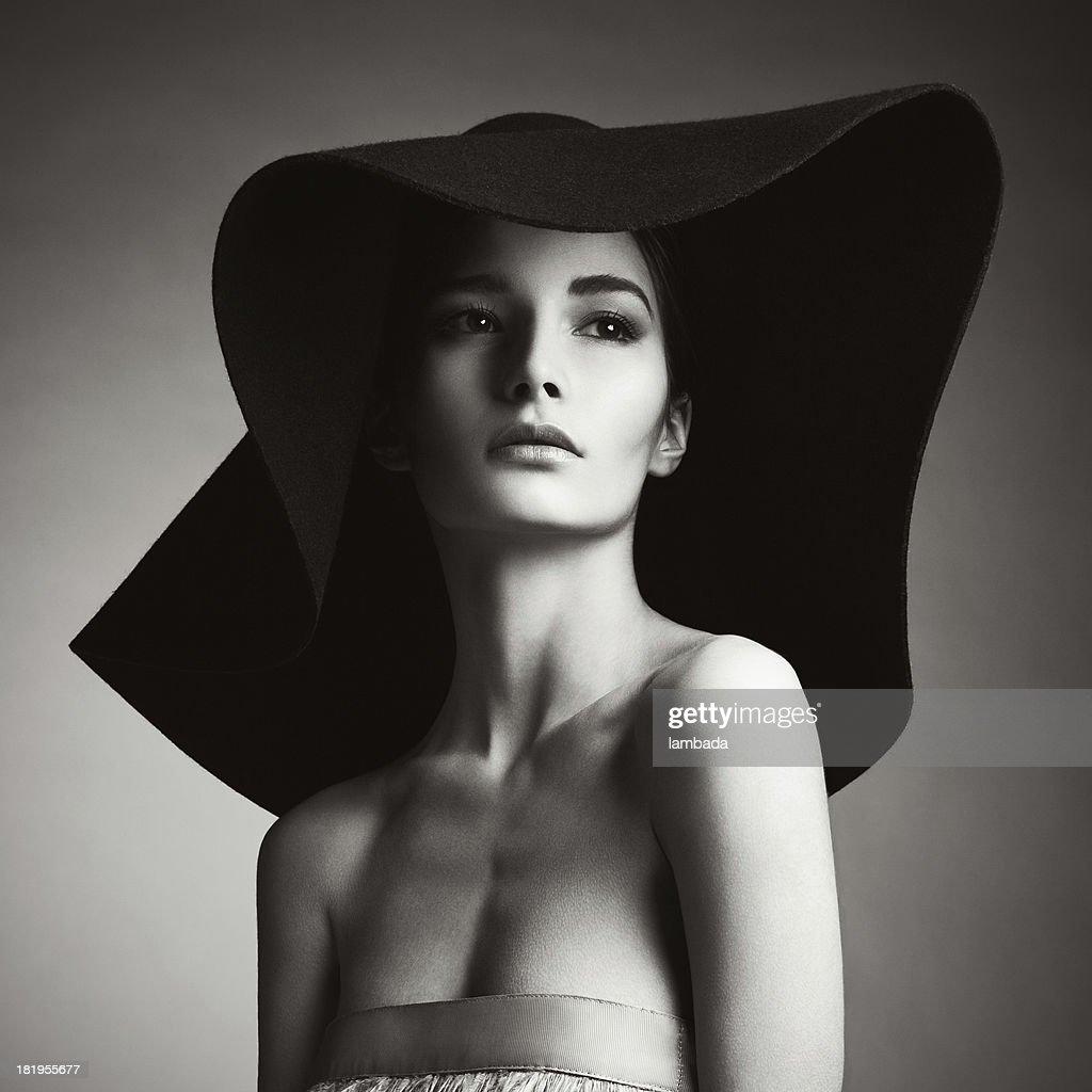 Schöne elegante Frau : Stock-Foto