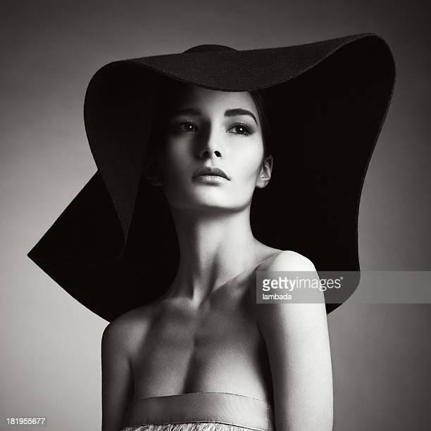 Schöne elegante Frau