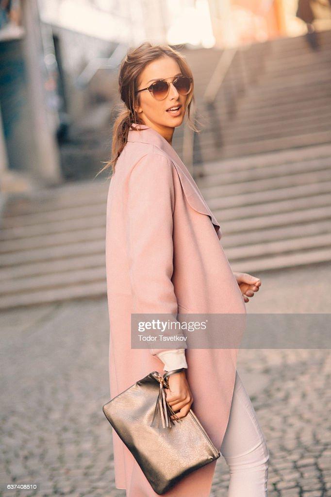 Beautiful elegant woman : Stock Photo