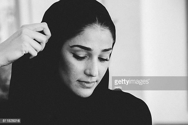 Beautiful Emirati woman