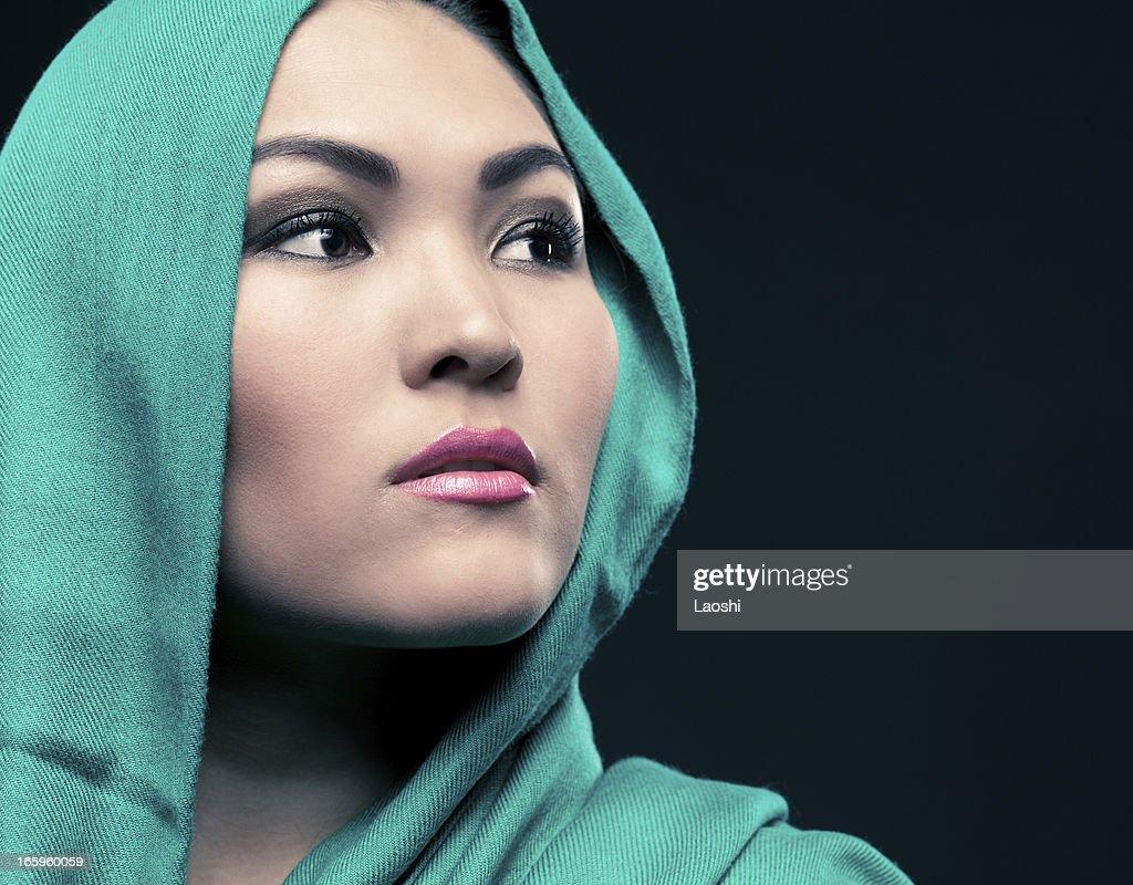 Beautiful ethnic woman portrait : Stock Photo