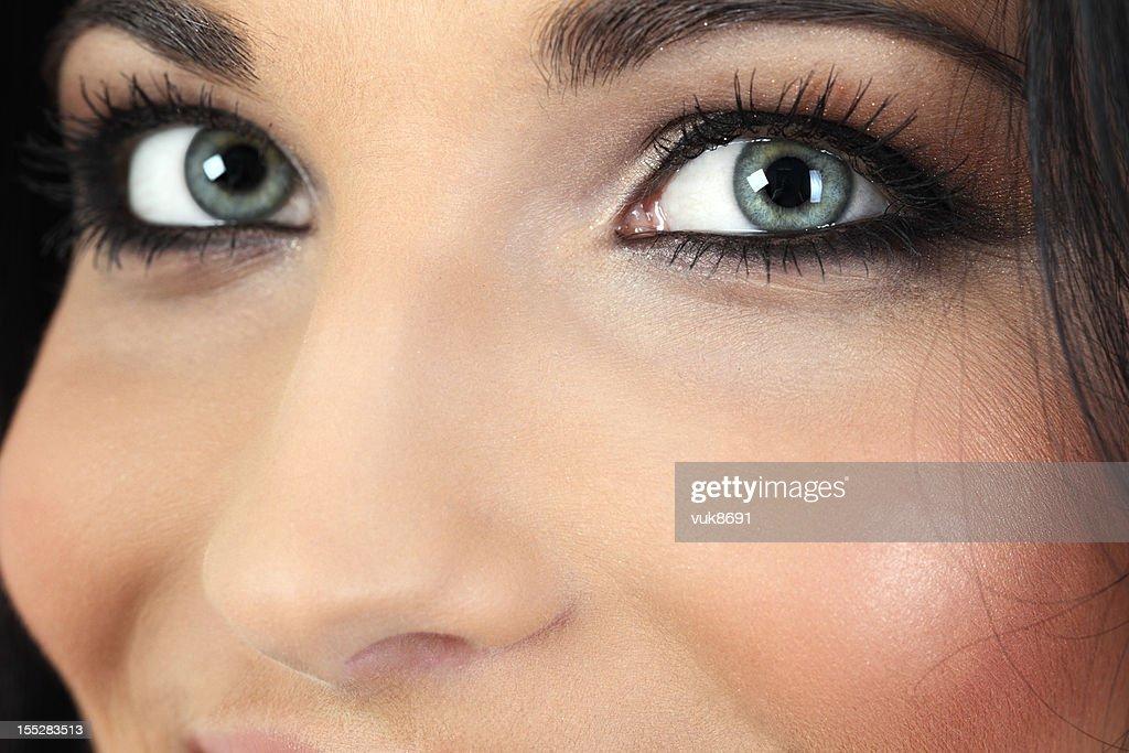 Beautiful eyes : Stock Photo