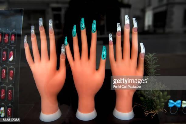 Beautiful fake nails
