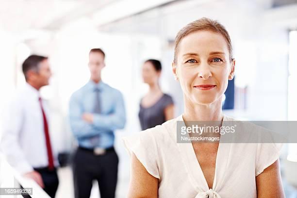 Beautiful Female Corporate Worker