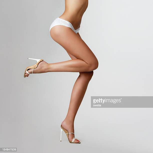 beautiful female legs. - beautiful legs in high heels stock photos and pictures