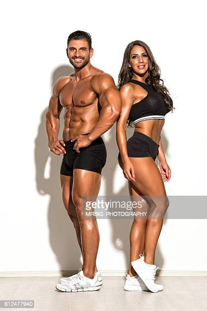 Beautiful Fit Couple