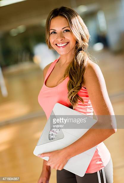 beautiful fit woman - kilogram stock pictures, royalty-free photos & images