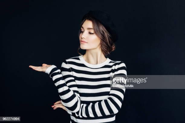 Hermosa mujer francesa