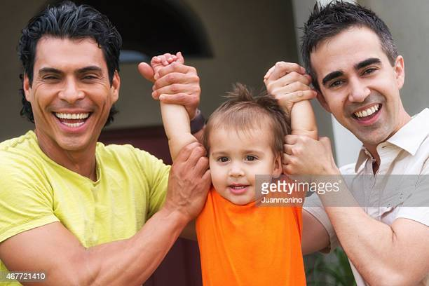 Beautiful Gay family