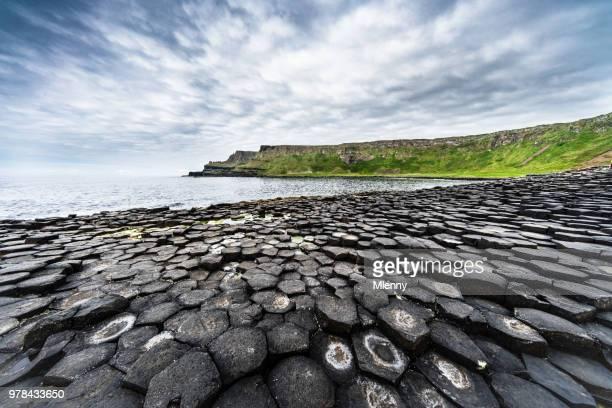 Beautiful Giants Causeway Panorama Northern Ireland
