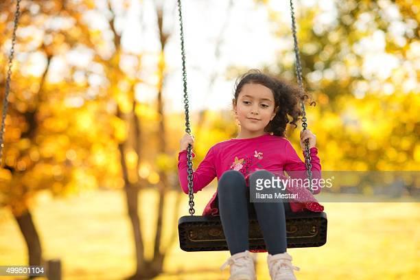 A beautiful girl outdoors