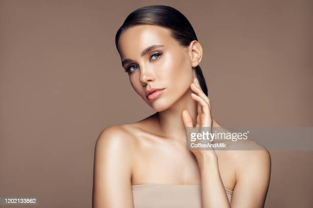 beautiful girl - glamour stock pictures, royalty-free photos & images