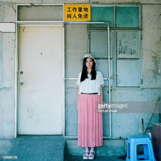 beautiful girl - zhanjiang stock photos and pictures