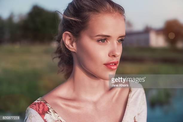 Beautiful golden girl