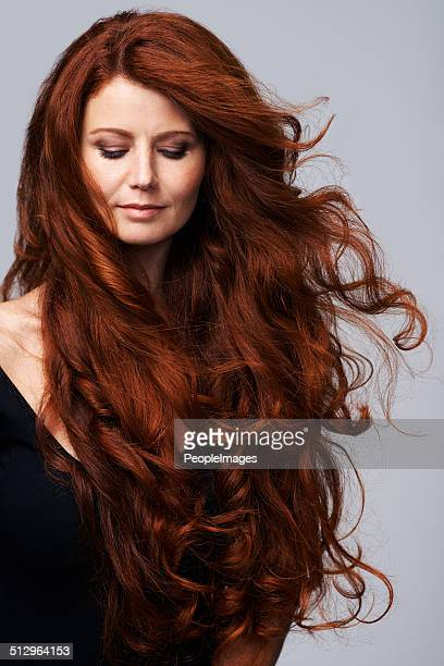 Beautiful hair is her greatest asset