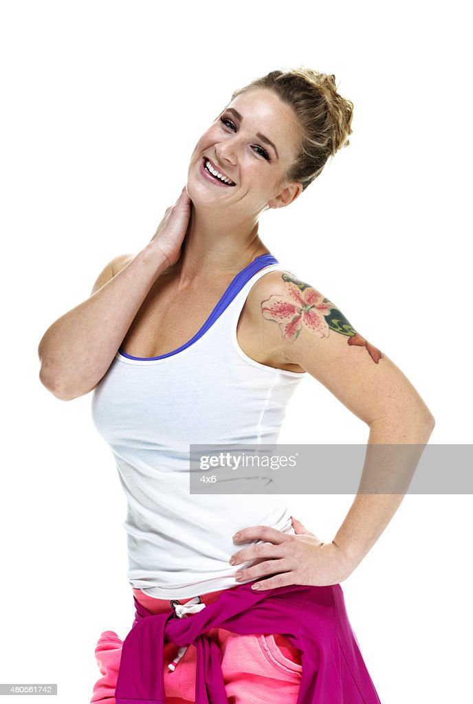 Beautiful happy woman : Stock Photo