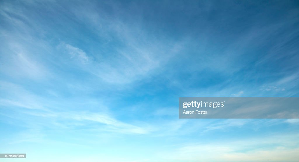 Beautiful Hi rez Sky : Stock Photo