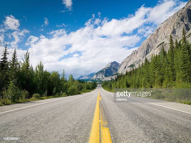 Beautiful Highway Rocky Mountains