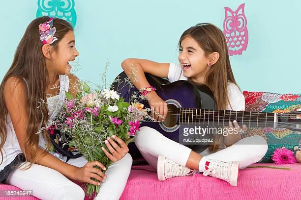 Wunderschöne hippie Freunden