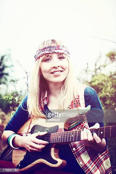 Hermoso hippy