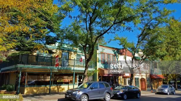 Beautiful Historic Small Town In Autumn