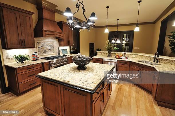 Hermosa casa cocina