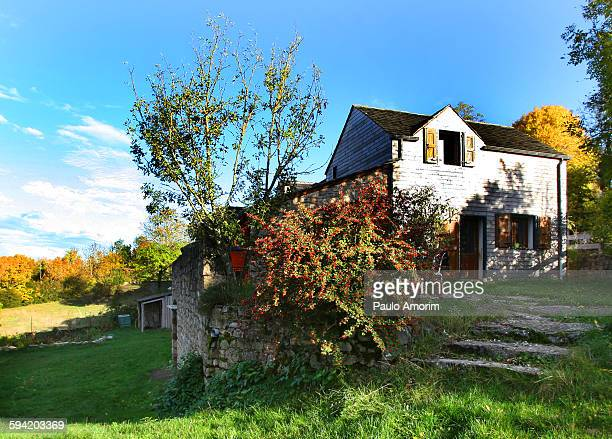 A beautiful  house at mountain in France
