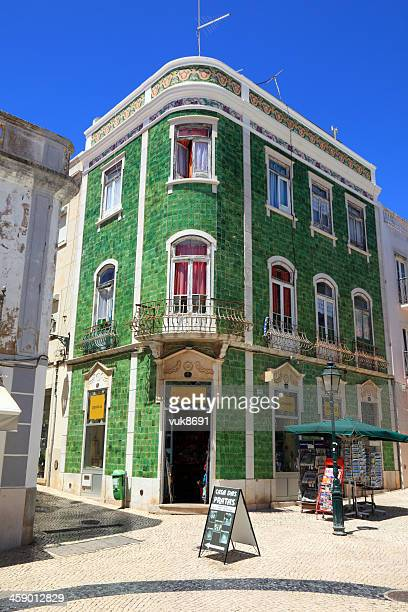 beautiful house - lagos portugal stock pictures, royalty-free photos & images