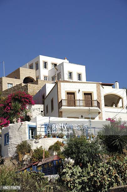 Beautiful houses at Skala