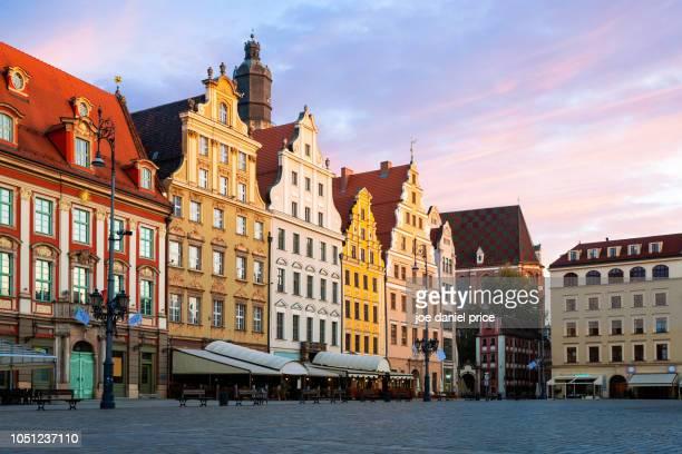 Beautiful Houses, Rynek we Wrocławiu, Market Square, Wroclaw, Poland