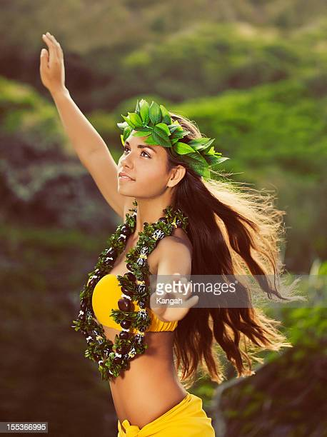 Beautiful Hula Dancer