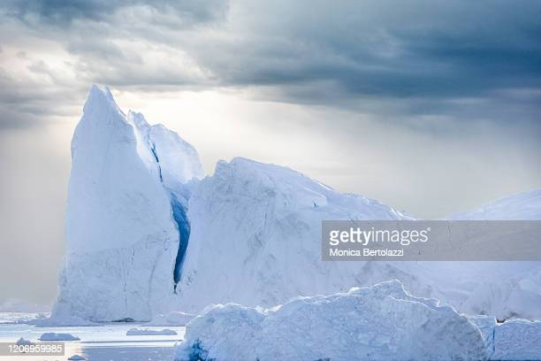 beautiful iceberg in greenland - polar climate stock pictures, royalty-free photos & images