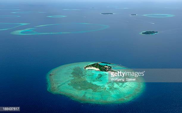Beautiful islands from the maldives