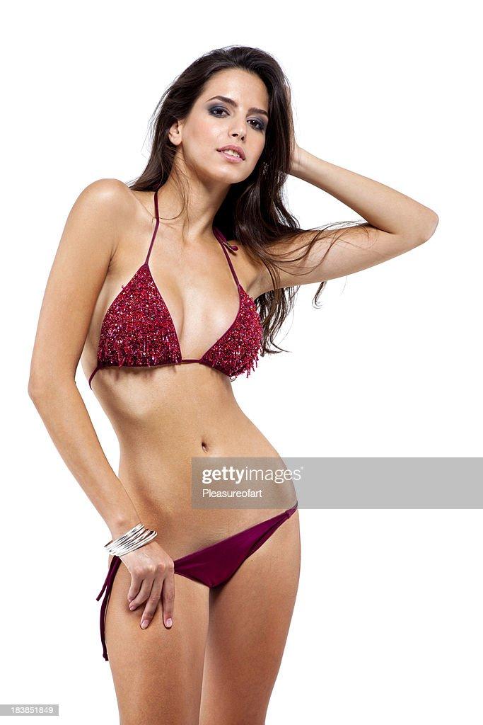 Teen In Bikini Oil Video