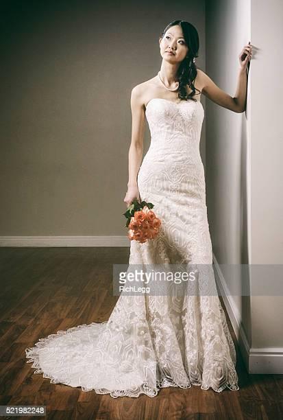 Schöne japanische Braut
