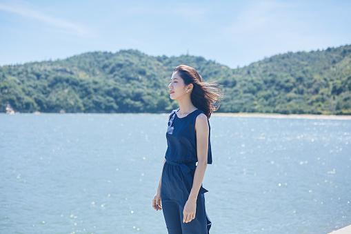 Beautiful Japanese women in her twenties - gettyimageskorea