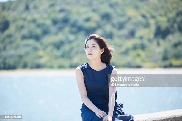 beautiful japanese women in her twenties - east asia stock pictures, royalty-free photos & images