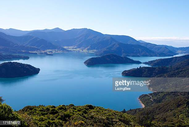 Beautiful Kenepuru Sound, Marlborough Sounds, New Zealand