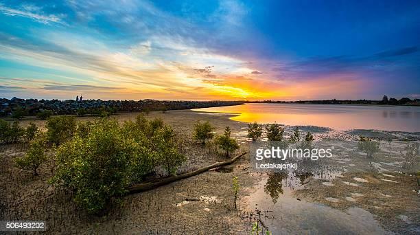 Beautiful lake in NSW, Australia.