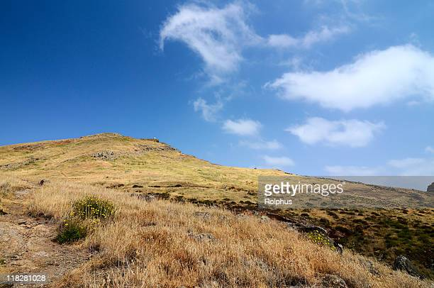 beautiful landmarks for hiking in spring madeira - sonnig stock pictures, royalty-free photos & images
