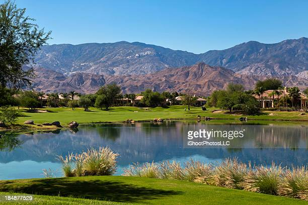 retirement community - palm springs stock-fotos und bilder