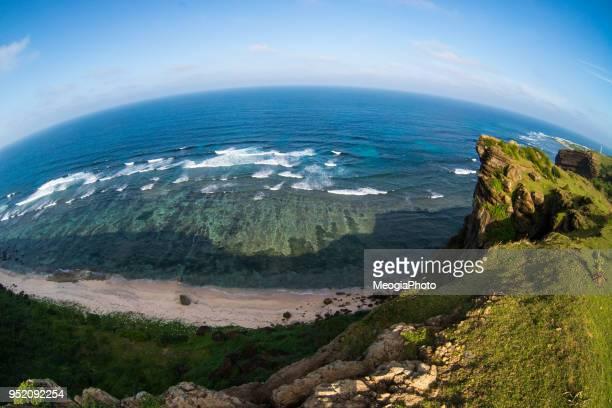 beautiful landscape in ly son island - quảng ngãi bildbanksfoton och bilder