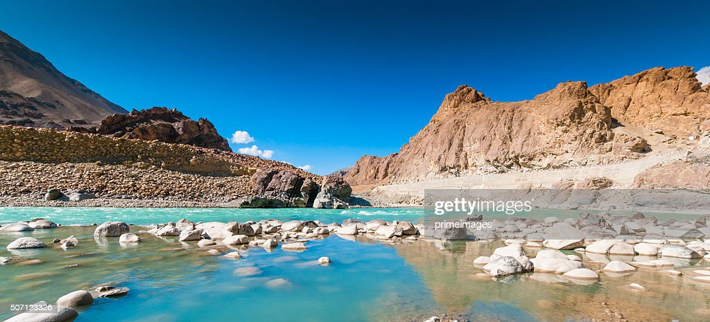 Beautiful landscape in Norther part of India : Stock Photo