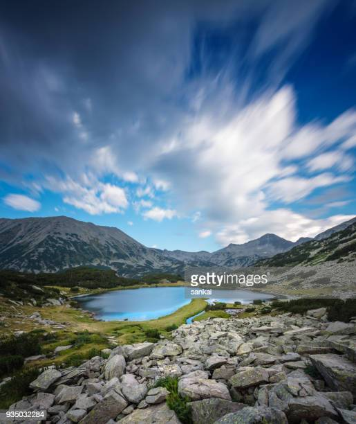 beautiful landscape in pirin mountains - bulgaria stock pictures, royalty-free photos & images