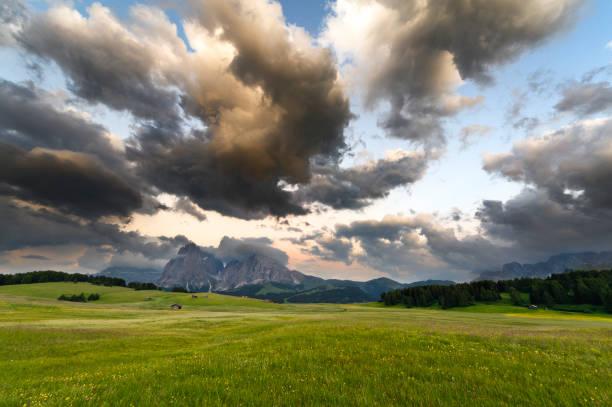 Beautiful Landscape In The Alps Wall Art