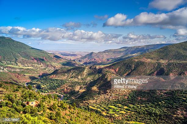 Beautiful landscape in the High Atlas